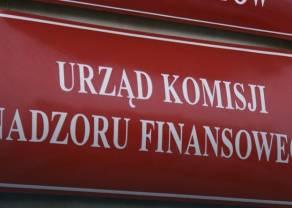 KNF wpisuje na listę ostrzeżeń podmioty oferujące obligacje GetBack