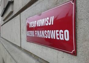 Komunikat KNF ws. sankcji administracyjnych nałożonych na GetBack SA