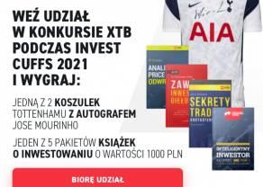 Konkurs XTB dla uczestników targów online Invest Cuffs 2021