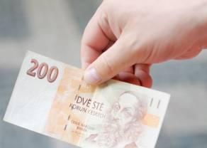 Kurs korony czeskiej (CZK) zyskuje w oczekiwaniu na podwyżkę stóp procentowych