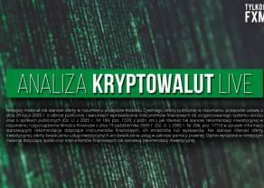 Kryptowaluty - analizujemy dla Ciebie! Najbliższe wsparcie na Ethereum ETHUSD