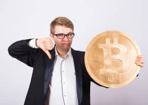 Kurs bitcoina (BTC) schodzi poniżej 30 tys. dolarów! Rynek krypto w tragicznej passie