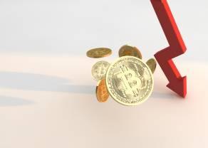 Kurs bitcoina (BTC/USD) spada poniżej 50 000 dolarów, co jest prawie 25% zniżką! Apetyt na ryzyko wyparował?
