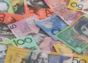 Kurs dolara australijskiego wzmocniony nieoczekiwanymi danymi. Euro do waluty amerykańskiej (EUR/USD) dryfuje przy 1,1075