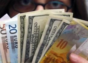 Kurs dolara do złotego (USD/PLN) w dół. Polski złoty lekko zyskuje. Kursy walut (USD, EUR, CHF, GBP) na rynku Forex w poniedziałek