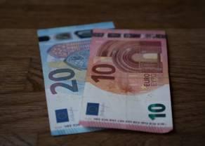 Kurs euro ciągle w górę względem funta. Delikatne odbicie w Europie pomimo spadków w Azji