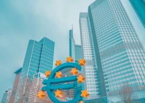 Kurs euro do dolara EUR/USD na poziomie 1,0975. Amerykańska waluta w defensywie. Informacje dotyczące przyszłych decyzji EBC i FED