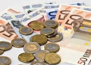 Kurs euro do dolara EUR/USD pozostaje tuż pod 1,11. EUR/PLN próbuje utrzymać się pod 4,35 złotego. Cena złota spada o 0,5%. Pozytywne nastroje