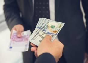 Kurs euro do dolara pnie się mocno w górę! USD ugina się pod globalną presją