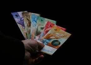 Kurs franka blisko 4,33 złotego. Dolar po 4,17 PLN. Euro przy 4,56 zł. Komentarz walutowy –  geopolityka ciąży rynkom