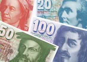 Kurs franka mocno w górę w stosunku do euro: EURCHF na najniższych poziomach od lutego. Rynek obawia się spowolnienia wzrostu