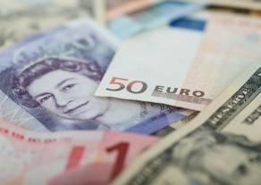 Kurs franka, euro i dolara w dół. Kurs funta do złotego mocno się trzyma