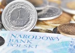 Kurs funta prawie 10 groszy w dół. Euro, frank i dolar zgubiły ponad 5 groszy. Polski złoty (PLN) mocno zyskuje