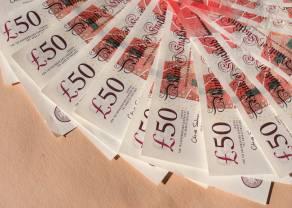Kurs funta solidnie zyskuje na wartości. Dobre dane windują notowania GBP w górę!