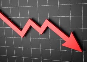 Kurs kontraktów terminowych na blue chipy (FW20) wybijając dołem, daje negatywny sygnał kontynuacji zniżki!