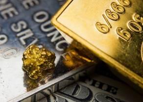 Cena złota (XAU/USD) najwyżej od sześciu lat, przekroczyła 1455 dolarów. Srebro (XAG/USD) najdroższe od ponad roku