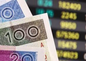 Euro, dolar, frank, funt, złoty i korona czeska. Kursy walut (EUR, USD, CHF, GBP, PLN, CZK) na rynku Forex po południu