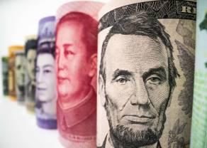 Kursy walut na rynku FX. Presja na dolarze trwa w najlepsze. Kurs eurodolara (EUR/USD) nie może odkleić się od 1,2130$