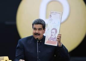 Maduro obcina pięć zer - Wenezuelczycy nie będą już miliarderami