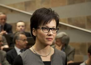 Małgorzata Zaleska - pierwsza w historii kobieta na czele GPW
