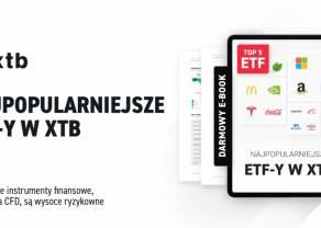 Najpopularniejsze ETF-y w XTB. Odbierz darmowy ebook i poznaj trendy wśród Klientów XTB