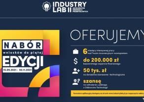 Nawet ćwierć miliona złotych czeka na innowacyjne startupy. Tylko do listopada potrawa nabór do IndustryLab