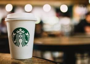 Notowania giełdowe spółki Starbucks z 4 procentowym wzrostem