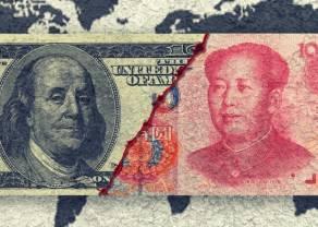 Nowa odsłona globalnej nerwowości? Analizujemy wykres dzienny kursu dolara do juana chińskiego i jena japońskiego na forex
