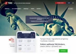 Nowy serwis internetowy TMS Brokers. Notowania live, wiadomości rynkowe, baza wiedzy i centrum pomocy – cały świat inwestycji w 1 miejscu