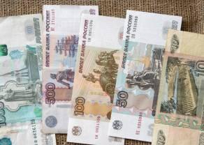Odwrót od dolara. Rosyjski rubel stracił niemal 10% do złotego. Kurs euro zyskuje