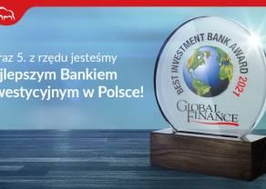 Pekao najlepszym bankiem inwestycyjnym według Magazynu Global Finance