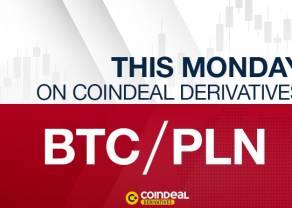 Pierwsza na świecie dźwignia na BTC/PLN już wkrótce na CoinDeal Derivatives!