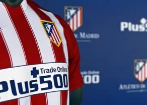 Plus500 głównym sponsorem Atletico Madryt na dłużej