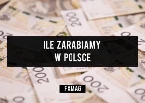 Polacy zarabiają o 350 zł więcej, niż rok temu. Czy to prawda?