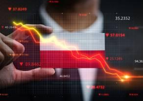 Polski rynek giełdowy najsłabszy w Europie, kurs złotego (PLN) traci coraz mocniej