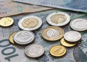 Polski złoty na chwilę umocnił się względem kursu euro, lecz teraz spada. Cena ropy mocno w dół. Wraca stare