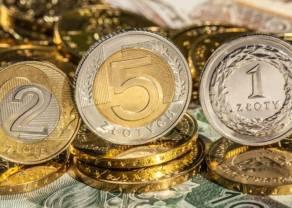 Polski złoty spada 6 groszy względem kursu euro. Dolar podchodzi pod 4 zł. Funt odbija się od 5,15 PLN