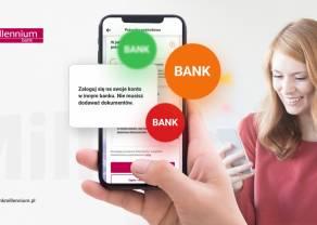 Potwierdzenie dochodu w procesie pożyczki gotówkowej z wykorzystaniem logowania do innego banku już dostępne w aplikacji Banku Millennium