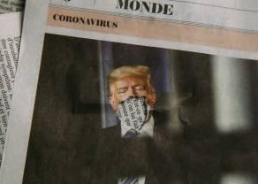 Pozytywne wyniki testów na koronawirusa u pary prezydenckiej Donalda i Melanii Trump
