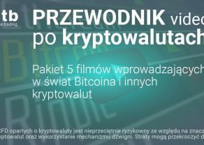 Przewodnik video po kryptowalutach od XTB
