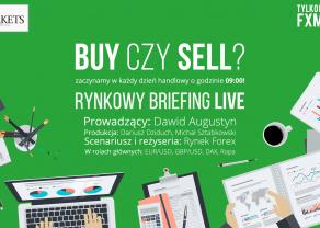 Przygotowanie do handlu LIVE (20 czerwca) - Początek tygodnia na rynkach