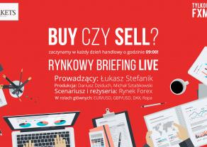 Przygotowanie do handlu LIVE - Początek tygodnia na rynkach