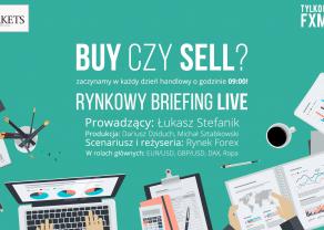 Rynkowy Briefing - główne pary walutowe, surowce, indeksy