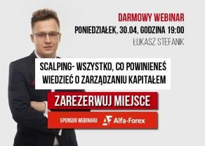 Scalping- zarządzanie kapitałem