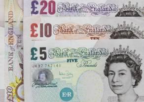 Słabsze dane z Wielkiej Brytanii - kurs funta do dolara coraz niżej, gdzie szukać dołka? Analiza GBP/USD