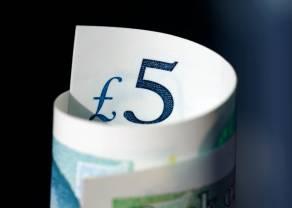 Spadki kursu funta (GBP) wobec dolara (USD). Payrollsy przewyższyły oczekiwania, niepokoje wciąż widoczne wraz ze wzrostem zachorowań