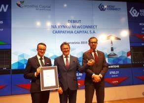 Spółka portfelowa Carpathia Capital, jako pierwsza w historii zmieni rynek notowań na rumuńskiej giełdzie