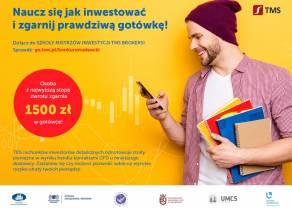 Startuje ogólnopolska Szkoła Mistrzów Inwestycji TMS Brokers!