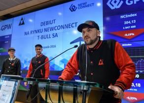 T-Bull z aspiracjami wejścia na główny parkiet GPW. Polska spółka gamingowa z 300 mln pobrań