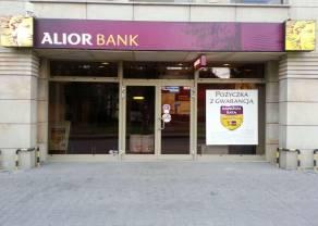 Tajemnica zmian kursów Alior Banku